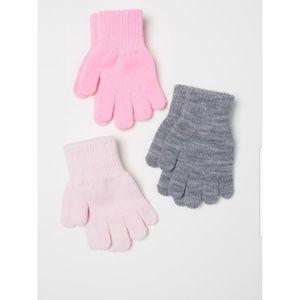 💜🌟HOST PICK🌟💜 NWT 3-pack Girl's Gloves